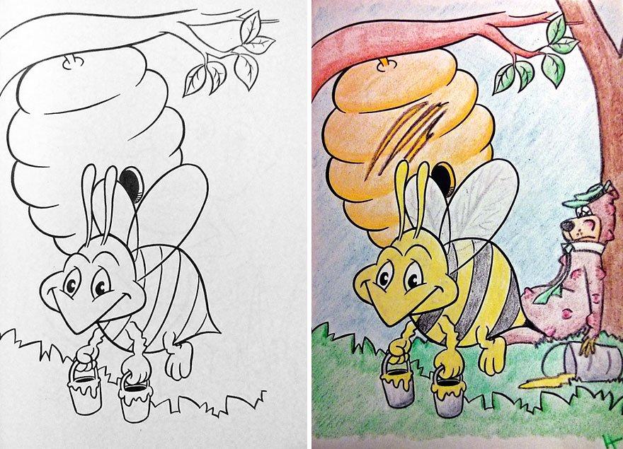 livros infantis pintados por adultos maliciosos (12)