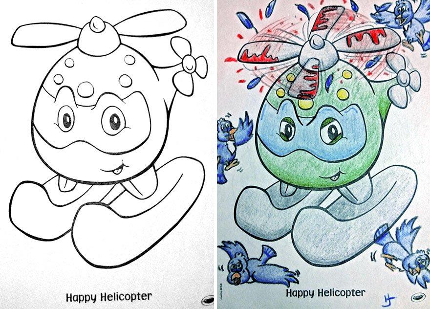 livros infantis pintados por adultos maliciosos (7)