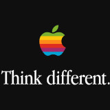 slogan apple pense diferente