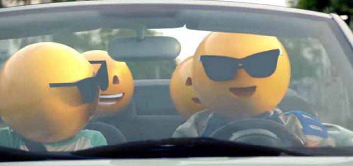 Publicidade com emojis do mcDonald´s