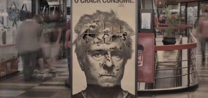 Campanha contra as drogas feita em São Paulo