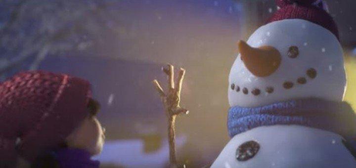 Cineplex e comercial com animação de natal