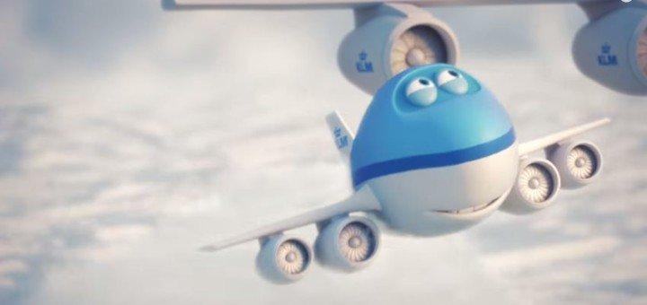 KLM apresenta seu novo mascote em coleções de animações