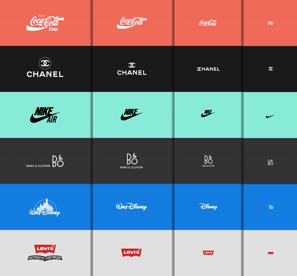 logotipos responsivos