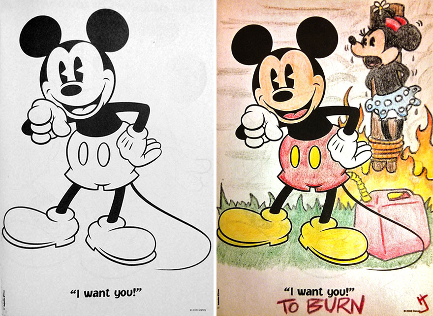livros infantis pintados por adultos maliciosos (14)
