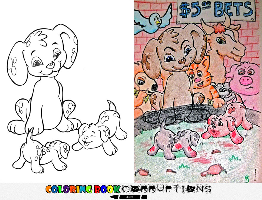 livros infantis pintados por adultos maliciosos (2)