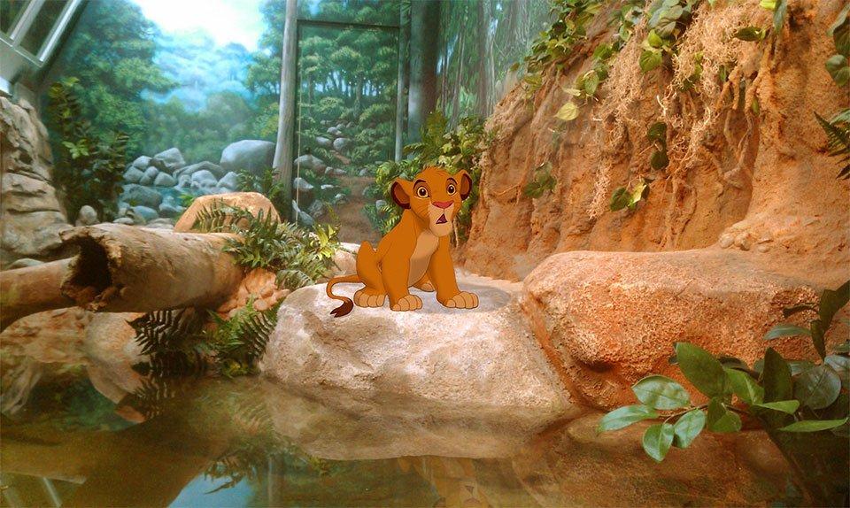 personagens da Disney em dias atuais (2)