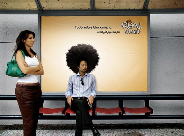 Cool and Creative Bus Stop Ads